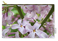 Carry-all Pouch featuring the photograph In A Sea Of Lilacs by Kathi Mirto
