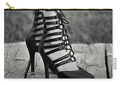 In Black Heels Carry-all Pouch