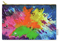 Carry-all Pouch featuring the painting In Bloom by Everette McMahan jr