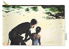 In Daddy's Arms Carry-all Pouch