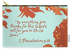 In Everything Give Thanks Carry-all Pouch