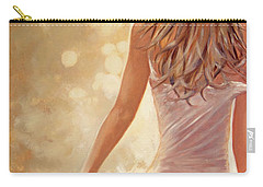 In Fields Of Summer Gold Carry-all Pouch