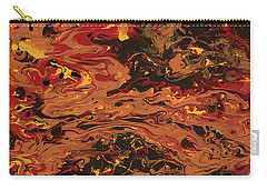 In Flames Carry-all Pouch