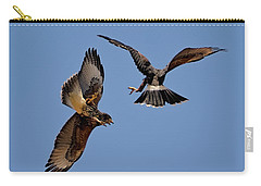 Carry-all Pouch featuring the photograph In Flight Challenge H43 by Mark Myhaver