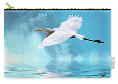 In Flight Carry-all Pouch by Cyndy Doty