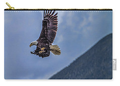In Flight Lunch Carry-all Pouch by Timothy Latta