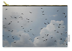 Carry-all Pouch featuring the photograph In Flight by Rob Hans