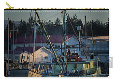 Carry-all Pouch featuring the photograph In For Ice by Randy Hall