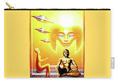 Carry-all Pouch featuring the painting In Higher Dimensions by Hartmut Jager