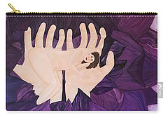 In Loving Hands Carry-all Pouch by Cheryl Bailey