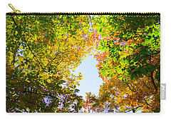 Carry-all Pouch featuring the photograph In Many Colors by Parker Cunningham