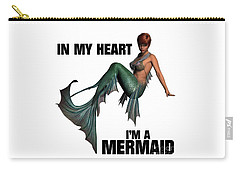 In My Heart I'm A Mermaid Carry-all Pouch