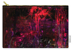 Carry-all Pouch featuring the digital art In The Ancients Chambers by Reed Novotny