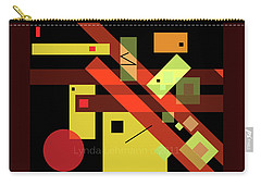 Carry-all Pouch featuring the digital art In The Balance by Lynda Lehmann