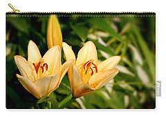Carry-all Pouch featuring the photograph In The Beginning by Angie Tirado