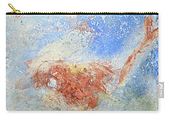 Carry-all Pouch featuring the mixed media In The Beginning by Deborah Boyd