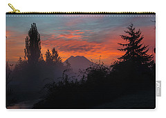 Carry-all Pouch featuring the photograph In The Beginning by Tikvah's Hope