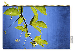 Carry-all Pouch featuring the photograph In The Blue by Carolyn Marshall