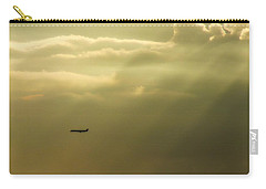 In The Clouds  Carry-all Pouch by Christy Ricafrente