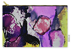 Carry-all Pouch featuring the painting In The Crowd by Michele Myers