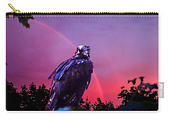In The Eye Of A Hawk Carry-all Pouch