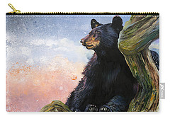 In The Eyes Of Innocence  Carry-all Pouch by J W Baker