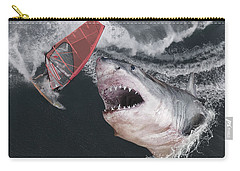 In The Face Of Fear Carry-all Pouch