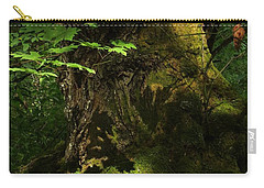 Carry-all Pouch featuring the digital art In The Forest by I'ina Van Lawick