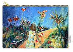In The Garden Of Joy Carry-all Pouch