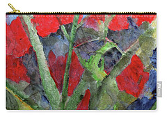 In The Garden Carry-all Pouch by Sandy McIntire