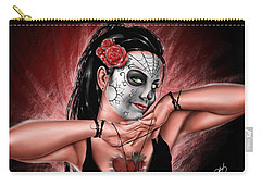 In The Hands Of Death Carry-all Pouch