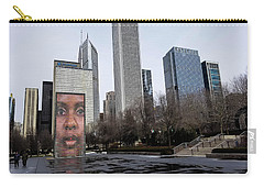 In The Heart Of Chicago Carry-all Pouch