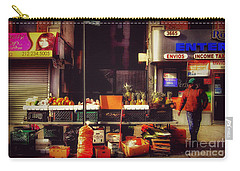 Carry-all Pouch featuring the photograph In The Heights by Miriam Danar
