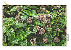 Carry-all Pouch featuring the photograph In The Highline Garden by Joan  Minchak