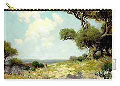 In The Hills Of Southwest Texas 1912 Carry-all Pouch