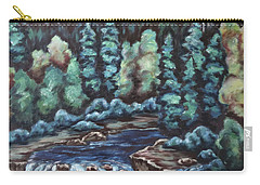 In The Land Of Dreams Carry-all Pouch by Cheryl Pettigrew