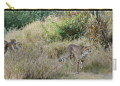 Carry-all Pouch featuring the photograph In The Lead by Fraida Gutovich
