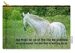 In The Meadow Quote Carry-all Pouch