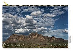 Carry-all Pouch featuring the photograph In The Midst Of The Superstitions  by Saija Lehtonen