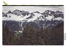 In The Mountains Carry-all Pouch by Daniel Precht