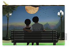 In The Park After Dark Carry-all Pouch