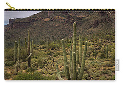 Carry-all Pouch featuring the photograph In The Presence Of The Supes  by Saija Lehtonen