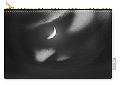 In The Quiet Of Your Mind Black Carry-all Pouch by ISAW Gallery