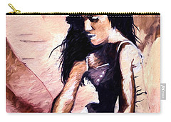 Carry-all Pouch featuring the digital art In The Sand by Pennie  McCracken