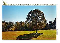 In The Shadow Of A Tree Carry-all Pouch