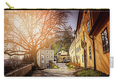 In The Shadow Of Salzburg Castle  Carry-all Pouch by Carol Japp