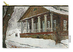In The Silence Of The Snow Covered Park Carry-all Pouch