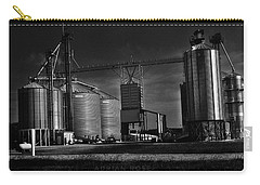 In The Still- Black And White Carry-all Pouch