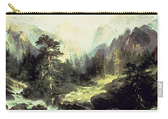 In The Teton Range Carry-all Pouch