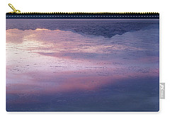 Carry-all Pouch featuring the photograph In The Wake Of Day by Dustin LeFevre